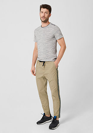 Tubx Jogger: trousers with side stripes from s.Oliver