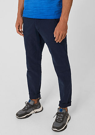 Tubx Regular : pantalon en twill stretch de s.Oliver
