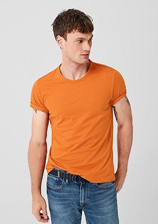 T-shirt basique en jersey de coton de s.Oliver