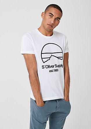 196c8d9586e T-shirts uni voor herren nu in de s.Oliver online shop bestellen