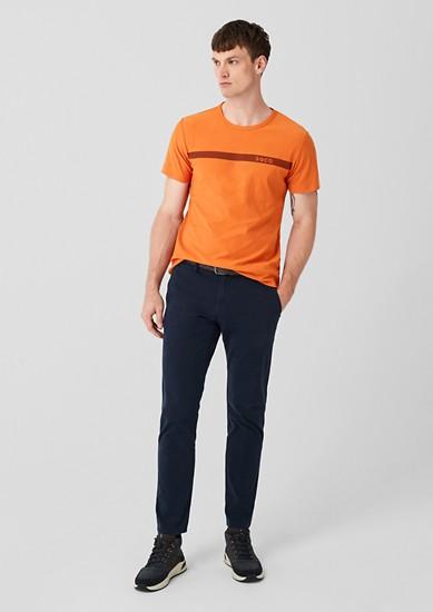 T-shirt met banden
