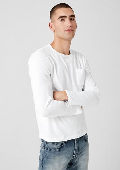 T-shirt à manches longues basique en jersey de s.Oliver