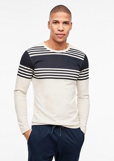 Slim: Shirt aus gekämmter Baumwolle