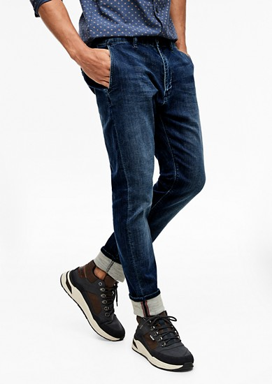Cone Tapered: Stretchjeans