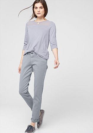 Shape skinny: coloured stretchjeans