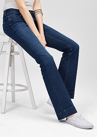 Shape Bootcut: dark denim jeans from s.Oliver