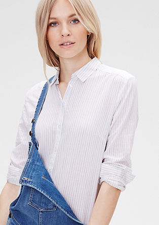 Boyfriend-style shirt blouse from s.Oliver