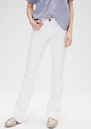 Shape Bootcut: frayed jeans from s.Oliver