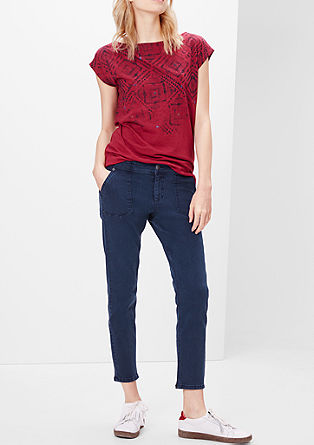 Shape Ankle: 7/8-Stretch-Jeans