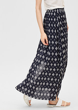 Boho-style maxi skirt from s.Oliver