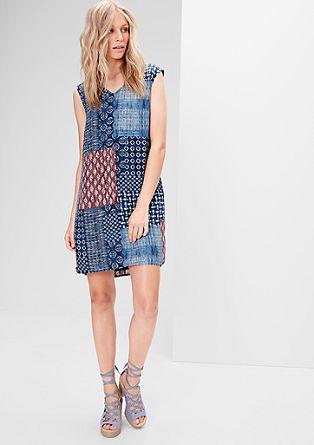 Blusenkleid mit Musterprint