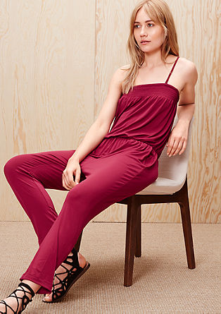 Stretchy bandeau jumpsuit from s.Oliver