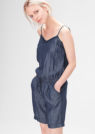 Playsuit in a denim look from s.Oliver