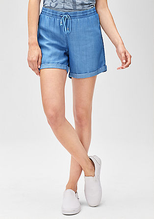 Smart Short: Leichte Denim-Shorts