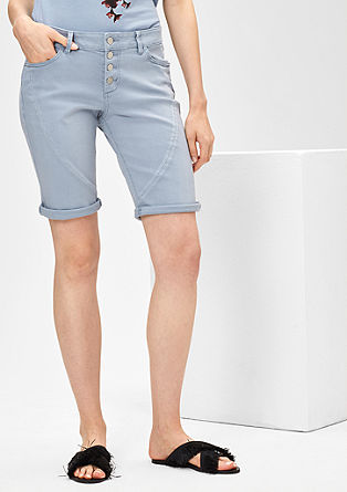 Smart Short: Denim-Bermuda