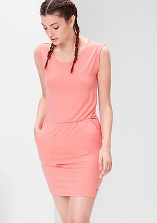 Sporty jersey dress from s.Oliver