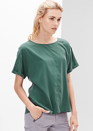 Casual blouse top in a modal blend from s.Oliver