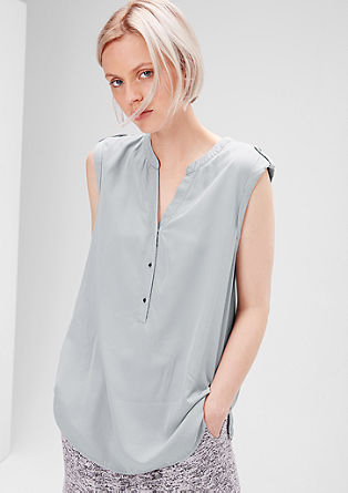 Blouse top made of viscose with a dye effect from s.Oliver