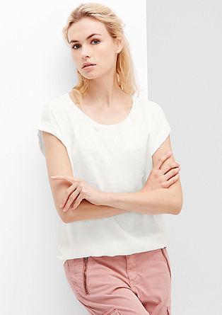 Blusenshirt in lockerer O-Shape