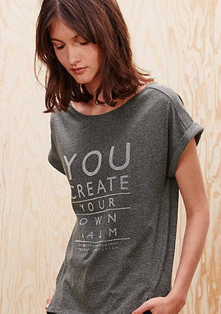 Soft statement T-shirt from s.Oliver