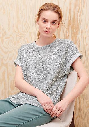 Sweatshirt mit kurzem Arm