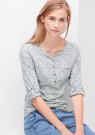 Marled long sleeve top from s.Oliver