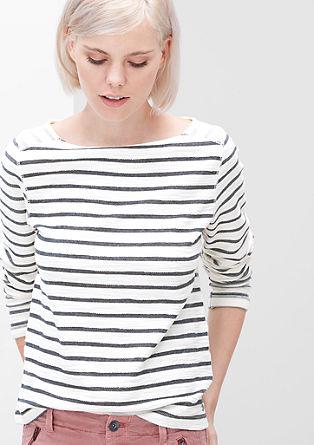 Sweatshirt mit Inside-out-Effekt