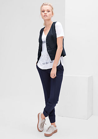 Pinstriped waistcoat from s.Oliver