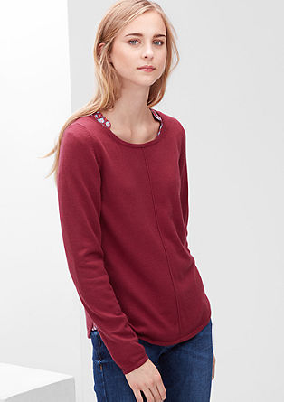 Loose fine knit jumper from s.Oliver