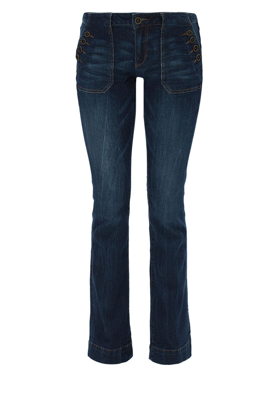 buy shape bootcut jeans with buttons s oliver shop. Black Bedroom Furniture Sets. Home Design Ideas
