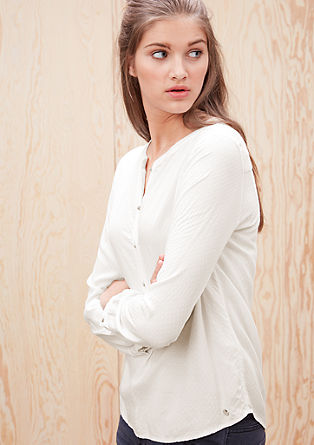 Bluse mit Musterstruktur