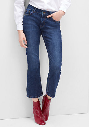 Kick flare: cropped flared jeans from s.Oliver