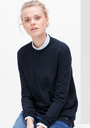 Lightweight fine knit jumper from s.Oliver