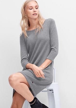 Feinstrickkleid aus Woll-Mix