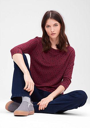 Jerseyshirt mit Multi-Print