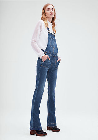 Flared dungarees from s.Oliver