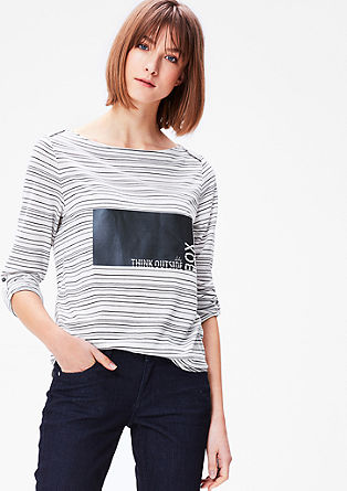 Statement-Shirt mit Print