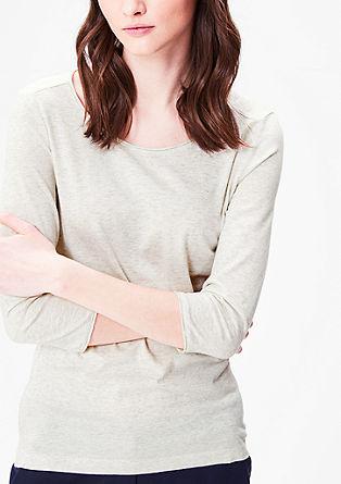 Basic-Shirt mit 3/4-Arm
