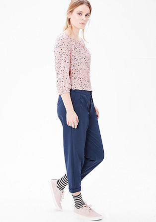 Loose crêpe blouse from s.Oliver