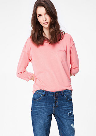 Casual slub yarn top from s.Oliver