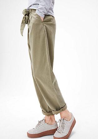 Smart Chino: Paperbag-Pants