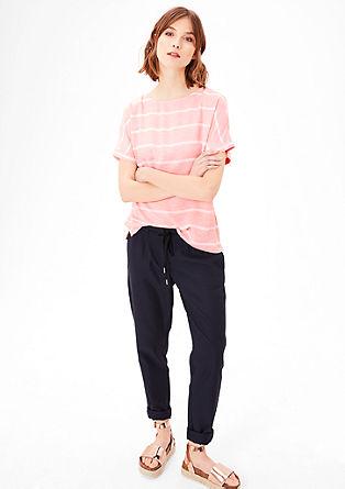 Lahka črtasta bluzna srajca