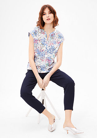 Blouse in a floral pattern from s.Oliver