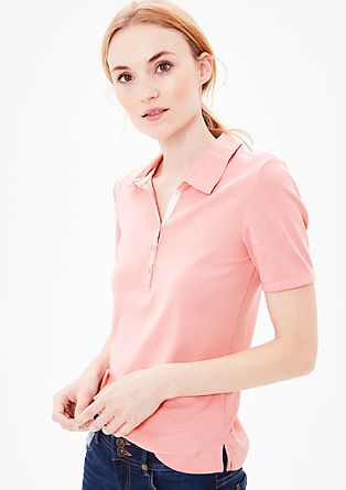 Lightweight jersey polo shirt from s.Oliver