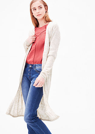 Delicate long cardigan from s.Oliver