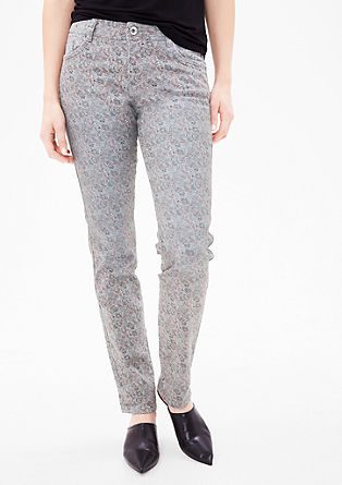 Shape Slim: Jeans with printed pattern from s.Oliver