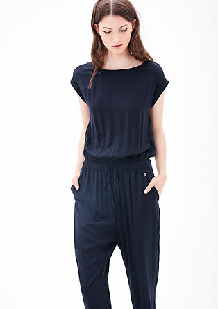 Jumpsuit van viscose