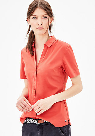 Stretch blouse with short sleeves from s.Oliver