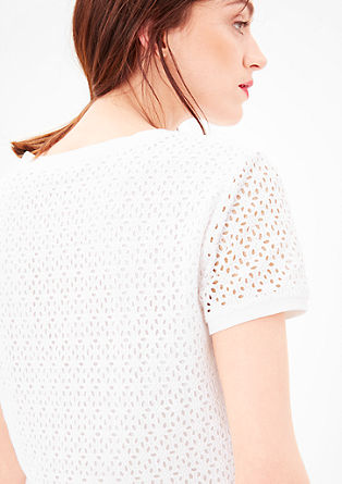 Top lined with lace from s.Oliver