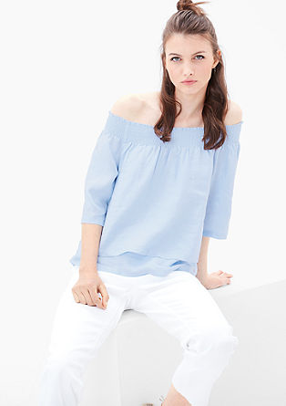 Linen blouse from s.Oliver